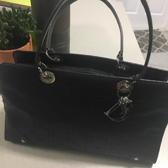 961672a817c1 Dior Handbags - Christian Dior Leather Handbag